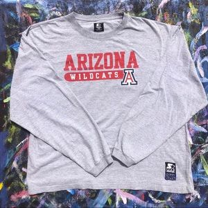 Vintage Starter University of Arizona long sleeve